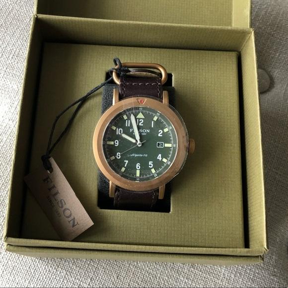 Shinola for Filson watch 9a697733c2